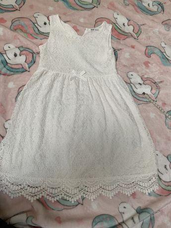 Sukienka koronkowa H&M 122