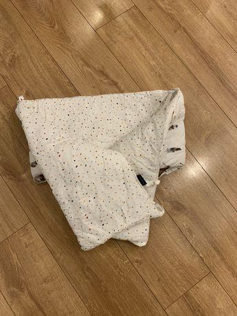 Ochraniacz Do Łóżeczka 70x140cm - Pure Dots