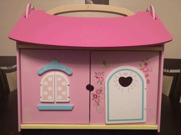 Domek Drewniany dla lalek Praktycznie nie używany