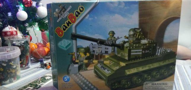 BanBao zestwa czołg
