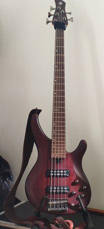 Gitara basowa 5 strunowa Yamaha TRBX 505