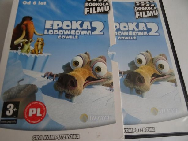 Gra komputerowa EPOKA LODOWCOWA 2 ODWILŻ stan idealny 2 CD