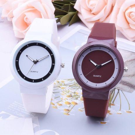 Хит!!! Женские часы силиконовый ремешок (Разные цвета)