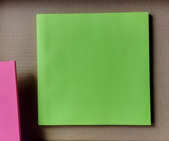 kartki samoprzylepne Tiger 20x20cm - fluo green [#61]