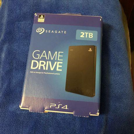 Внешний Жесткий диск Ps4 2TB (Новый) Seagate Game Drive