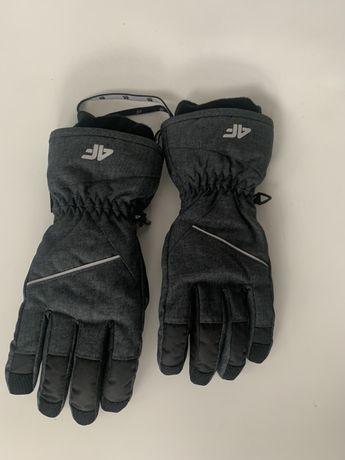 rękawiczki 4f zimowe narciarskie s jak nowe