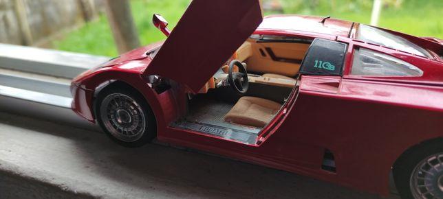 Carros à escala (Porsche, jaguar, Bugatti)