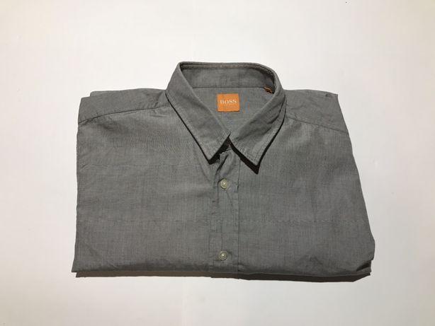 Мужская рубашка hugo boss размер м