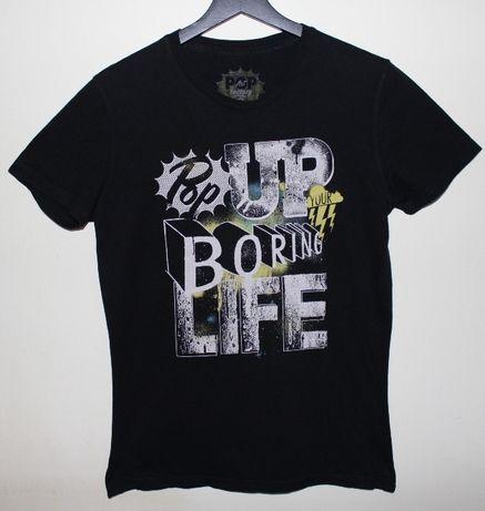 Koszulka nr 1 czarna chłopięca męska rozmiar XS 158/164