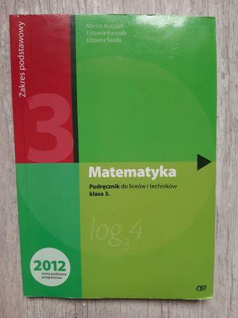Podręcznik matematyka 3 zakres podstawowy klasa 3 liceum technikum