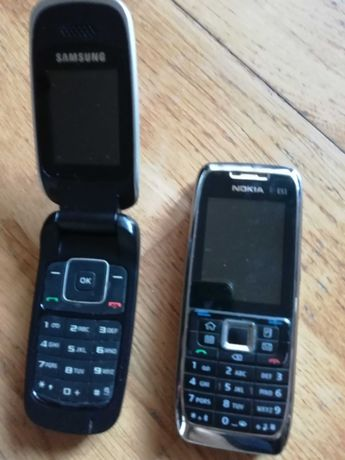 telemóveis nokia e samsung