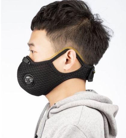 Респиратор / защитная маска длительного ношения со сменными фильтрами