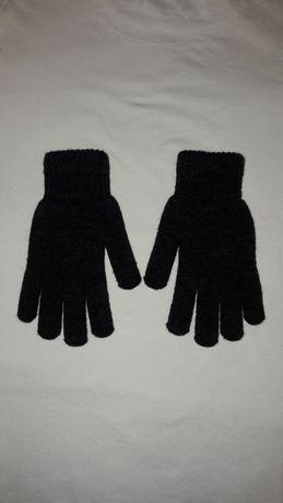 NOWE Rękawiczki Zimowe Ocieplane Czarne