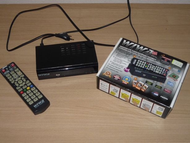 Dekoder Tuner Naziemnej Telewizji WIWA HD-90