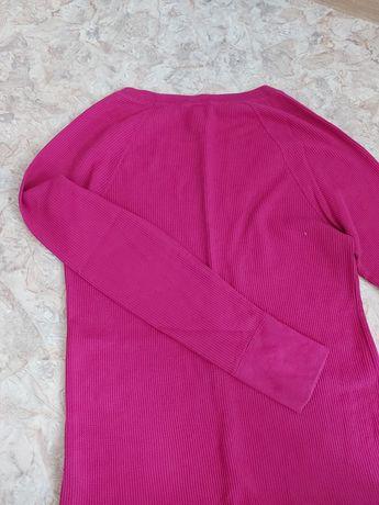 Женская удлинённая кофта-реглан