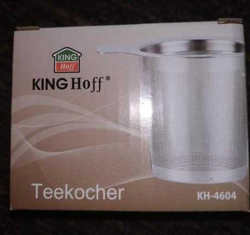Kinghoff Zaparzacz do herbaty ze stali nierdzewnej