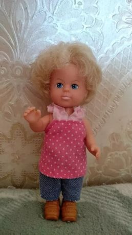 раритетная Кукла simba пупсик ребенок сын Барби малыш 13см винтаж