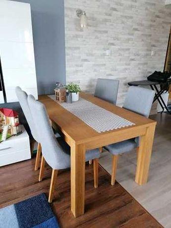 Komplet stół i 4 krzesła