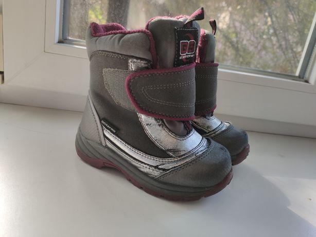 Термо сапоги зимние b&g bgtermo ботинки стелька 16,5