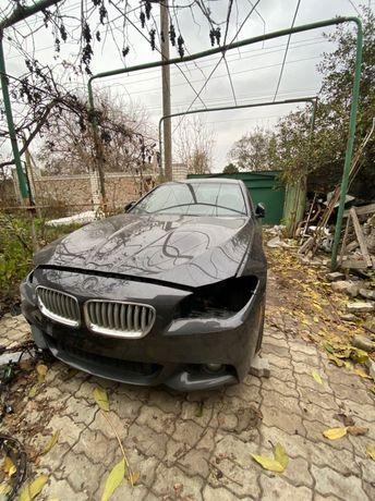 Разборка BMW F10 550xi на запчасти капот крыло дверь A90