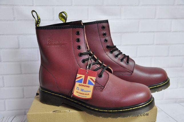 Ботинки туфли обувь Dr.Martens 1460 Без Меха В наличии Киев
