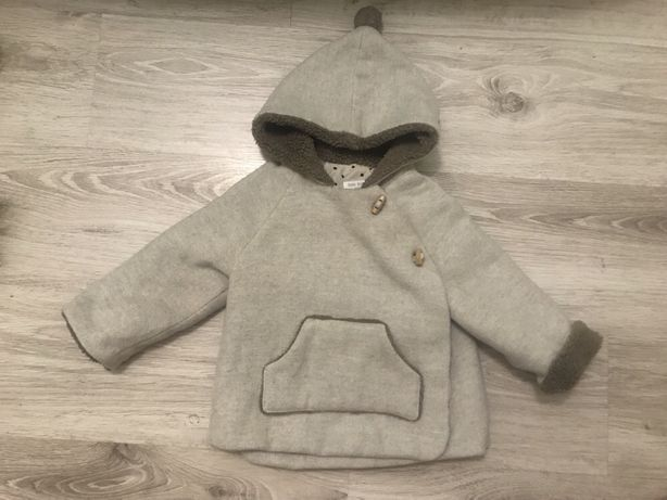 Куртка зимняя парка курточка пальто 98-104 3-4 waikiki zara next h&m