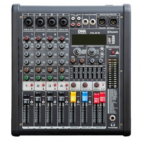 DNA HLC 4 - mikser audio z MP3, DSP i Bluetooth sklep Koszalin