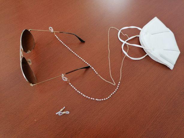 Corrente/ colar para óculos e máscara Novo