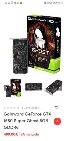 Placa gráfica gtx 1660 super ghost