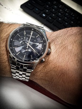 Citizen Sapphire Eco-Drive AT2141-52L - stan idealny, jak nowy!