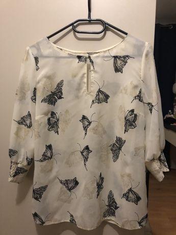 Bluzka z motylami