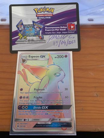 Espeon GX (SUM 152) NM pokemon