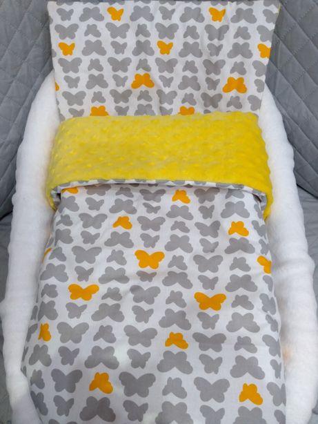 Kocyk z poduszką do wózka