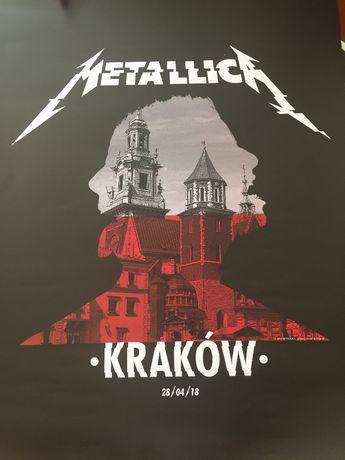 Metallica plakat Kraków 2018