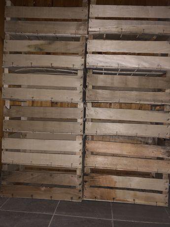 Ящики дерев'яні для різних овочів та фруктів