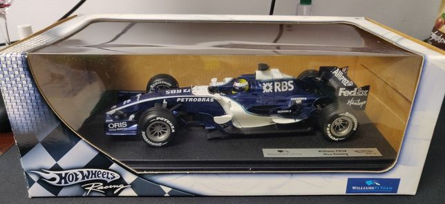 F1 Hot Wheels racing Williams FW28 Nico Rosberg 1/18 2006
