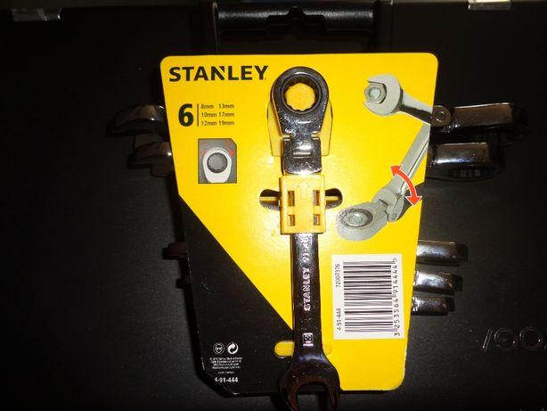 Klucze Stanley płaskie-łamane z grzechotką
