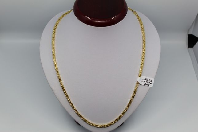 Złoto/Złoty łańcuszek 585 19,89 gram Slot Królewski/Bizantyjski Nowe