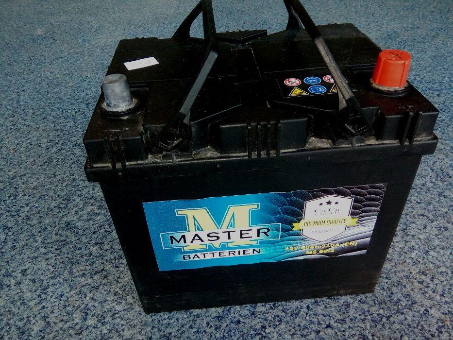 Akumulator MASTER VARTA 60Ah JAPAN P+ L+ Jasło Jasło - image 1