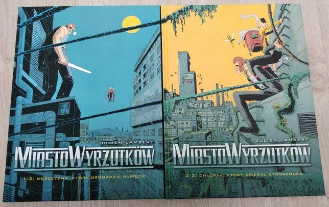Miasto Wyrzutków - Tom 1 i 2, komplet, stan bdb