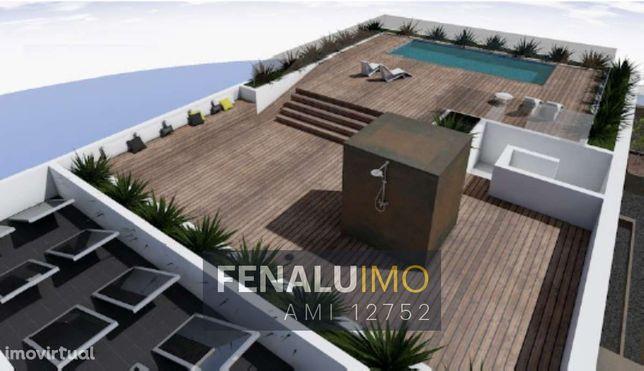 Apartamento Novo T3, piscina,  praia da consolação, costa da prata