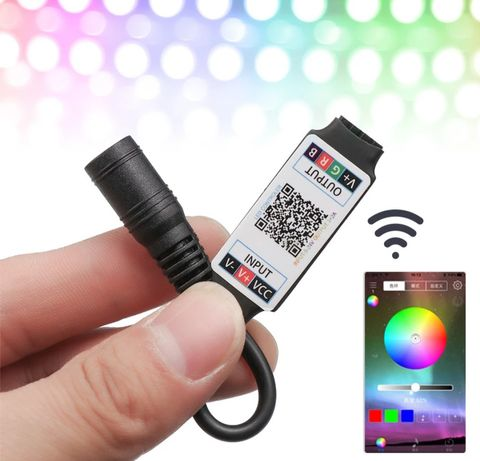 RGB Bluetooth контролер для світлодіодної стрічки
