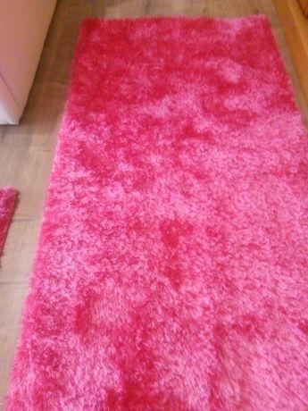 Terno Tapetes rosa choque