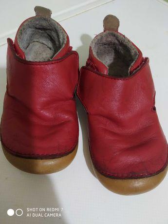 Черевички туфельки ботинки хайтопи Vertbaudet шкіра кожа