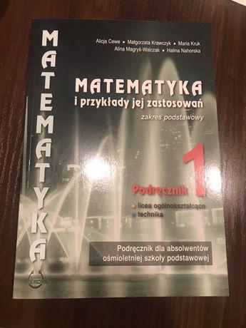 Książka Matematyka i przykłady jej zastosowań. Zakres podstawowy