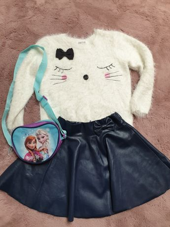 Komplet ubrań dla dziewczynki roz 122