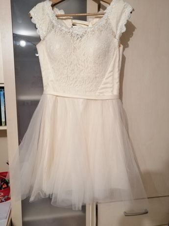 Sukienka tiulowa wesele