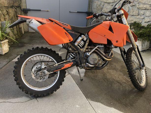 KTM 450 EXC de 2003
