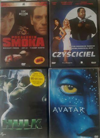 Filmy DVD 20 sztuk.