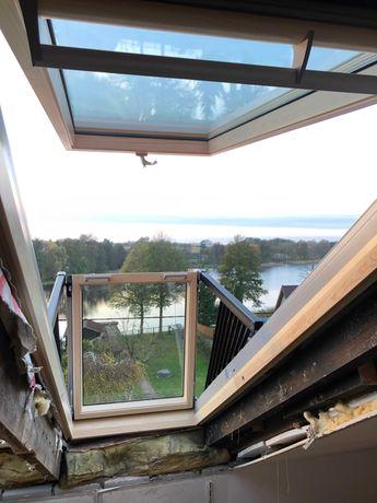 Okno balkonowe Velux GDL MK19 78x252 drewniane